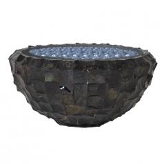Кашпо Radica Bowl Flat, черный