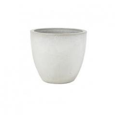 Кашпо Couple, керамика, белый