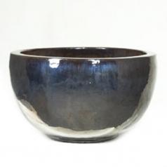 Кашпо Metal glaze bowl, керамика