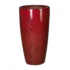Кашпо Partner red, керамика