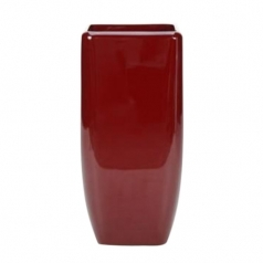 Кашпо Callisto Square, пластик, красный