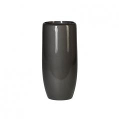 Кашпо Callisto Vase, пластик, антрацит