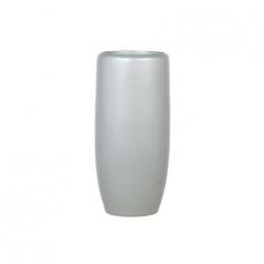 Кашпо Callisto Vase, пластик, серебряный