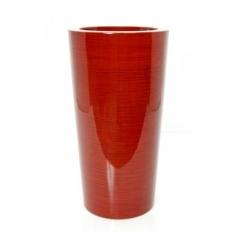 Кашпо Krappa Partner, пластик, красный бамбук