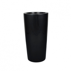 Кашпо Krappa Partner, пластик, черный