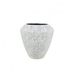 Кашпо Phornax Coppa, пластик, черно-белая искра
