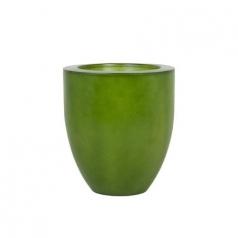 Кашпо Fibreglass Round, пластик, яблочно зеленый