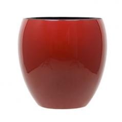 Кашпо Jura Round, пластик, красный