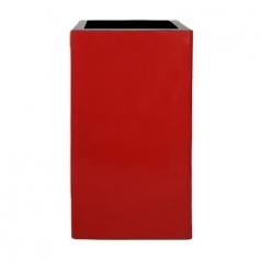 Кашпо Jura Square, пластик, красный