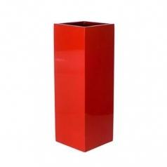 Кашпо Fiberstone Ying, пластик, красный