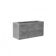Кашпо Fiberstone Jort, пластик, серый