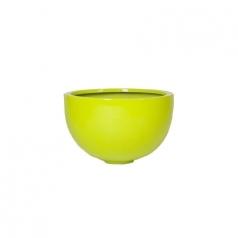 Кашпо Fiberstone Glossy Bowl, пластик, лайм