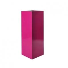 Кашпо Fiberstone Yang, пластик, розовый