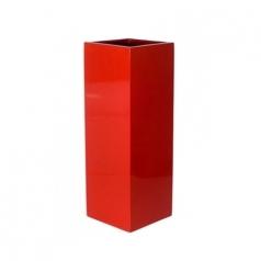 Кашпо Fiberstone Yang, пластик, красный