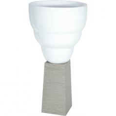 Кашпо IMPRESS Vase, смола
