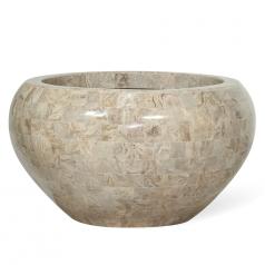 Кашпо GEO CROWN Planting Bowl, стекловолокно