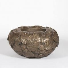 Кашпо Leaf Bowl, латунь