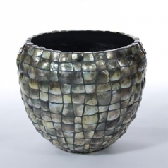 Кашпо Apprentice Blacklip, керамика