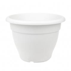 Кашпо Elho Torino campana, пластик, белый