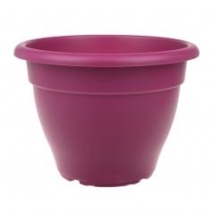 Кашпо Elho Torino campana, пластик, сливовый