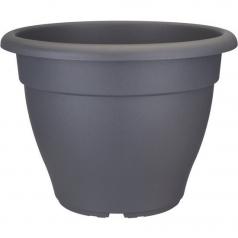Кашпо Elho Torino campana, пластик, антрацит