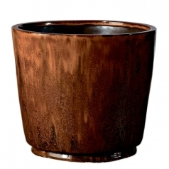 Горшок Deroma Crystal vaso, red rust
