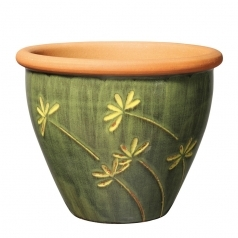 Горшок Deroma Graminees vaso, verde