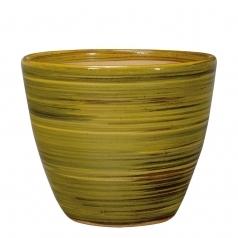 Горшок Deroma Rainbow vaso, giallo