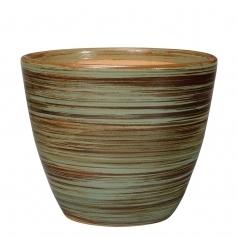 Горшок Deroma Rainbow vaso, verde