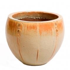 Горшок Deroma Rabat vaso, mustard
