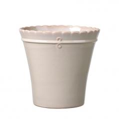 Кашпо Deroma Macrame, cream