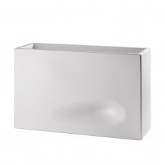 Кашпо Plastecnic Vaso Mod'o 50, Bianco