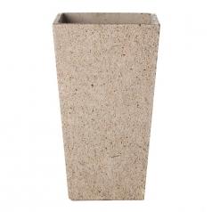 Кашпо Concretika Conic Sandstone, цемент, песчаник