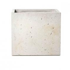 Кашпо Concretika Cube Concrete Cloud, цемент, облачно-серый