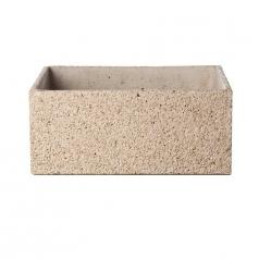 Кашпо Concretika Polycube Sandstone, цемент, песчаник