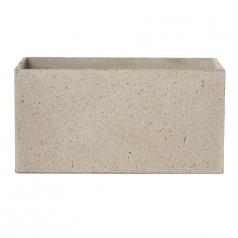 Кашпо Concretika Polycube high Sandstone, цемент, песчаник