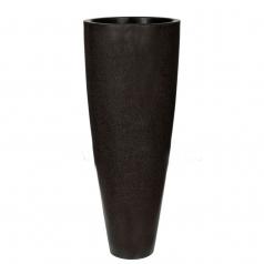 Кашпо Capi Lux Vase Elegance, черный