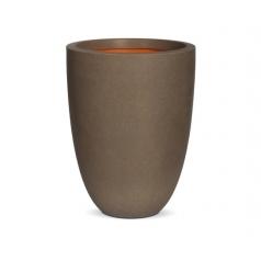 Кашпо Capi Tutch Vase Elegance Low, Camel