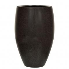 Кашпо Capi Lux Vase Elegant Deluxe, черный