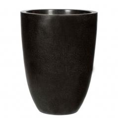 Кашпо Capi Lux Vase Elegant Low, черный