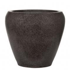Кашпо Capi Lux Vase Tapered Round, черный