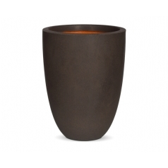 Кашпо Capi Tutch Vase Elegance Low, Brown