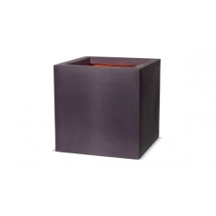 Кашпо Capi Tutch Planter Square, Aubergine