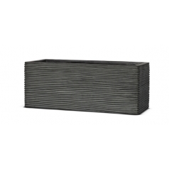Кашпо Capi Nature Planter Rectangular, rib black