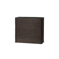 Кашпо Capi Nature Planter Envelope, rib brown