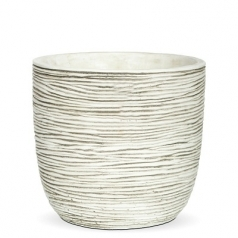 Кашпо Capi Nature Planter Ball Mini Rib, Ivory
