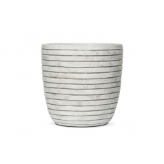 Кашпо Capi Nature Planter Ball Row, Ivory