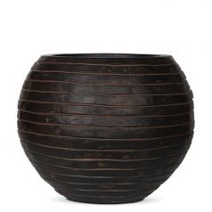 Кашпо Capi Nature Vase Ball Row, brown