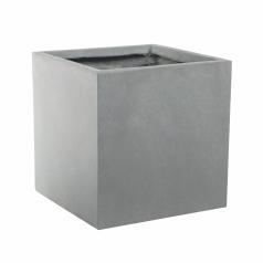 Кашпо Basic Cube, конкрит