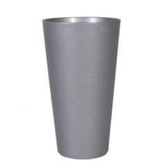Кашпо Art en vogue (tesla) claire vase, platinum